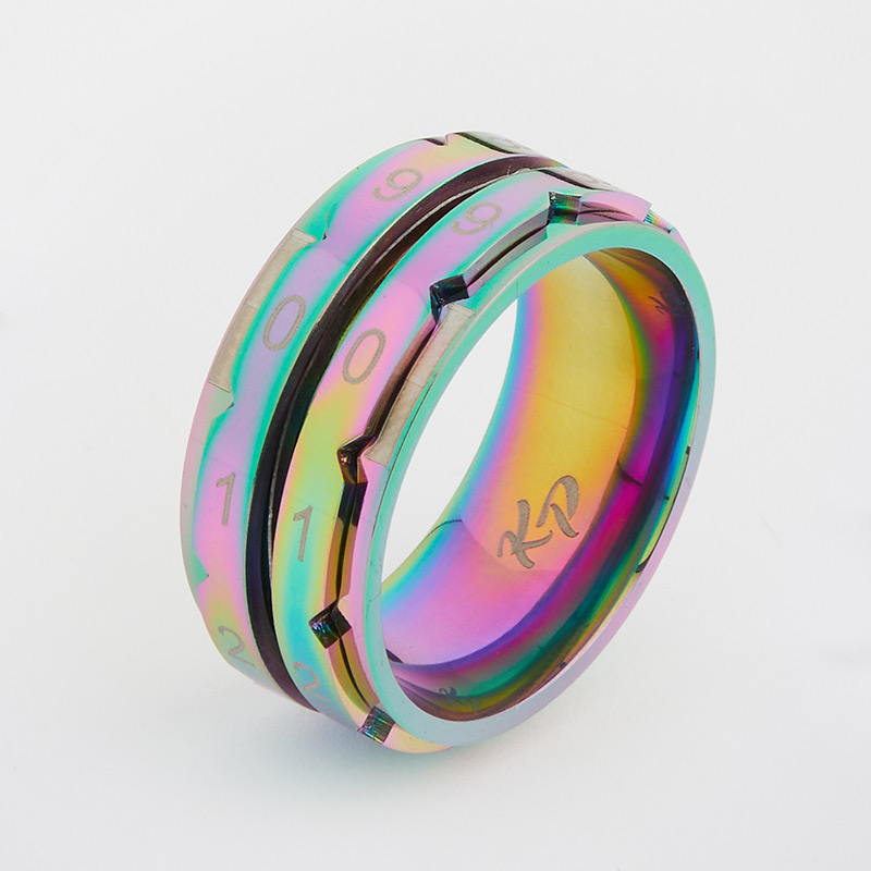 Knitters Pride Rainbow Row Counter Rings 1